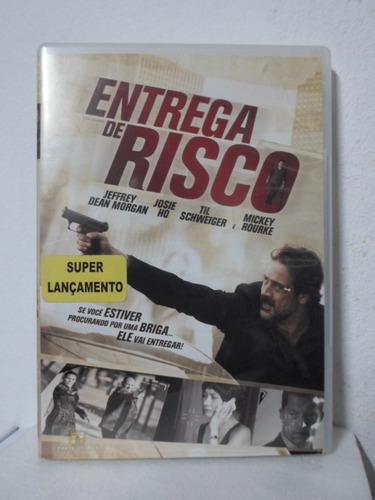 dvd entrega de risco - frete: 8,00