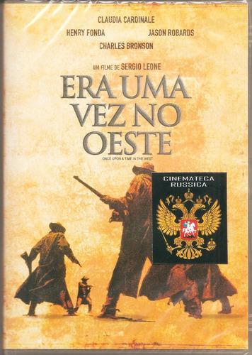 dvd era uma vez no oeste, sergio leone, cardinale, h fonda +