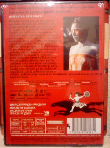 dvd eréndira ikikunari de juan mora catlett