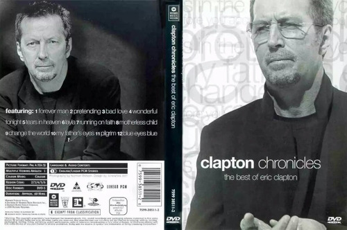 dvd eric clapton chronicles - the best of