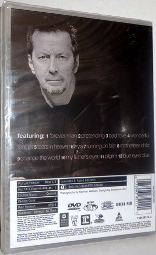 dvd eric clapton - chronicles the best of  'original'