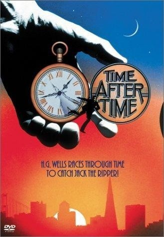 dvd escape al futuro time after time destripador h.g. wells