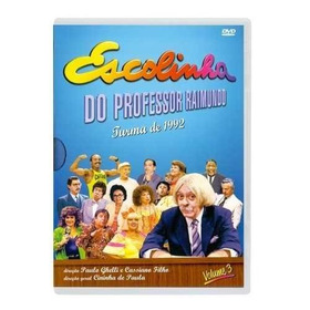 Dvd Escolinha Do Prof Raimundo- Turma De 1992 Vol.3 Original