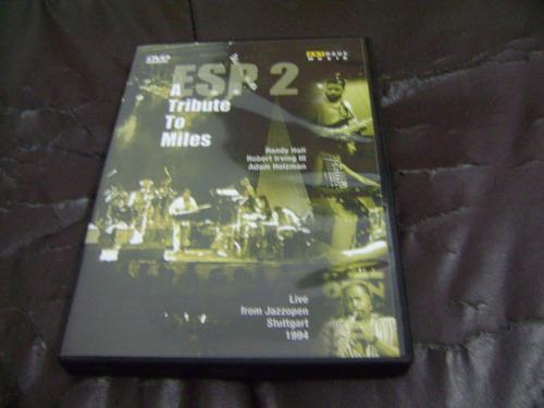 dvd esp 2 tributo  miles davis randy hall r.irving a.holzman
