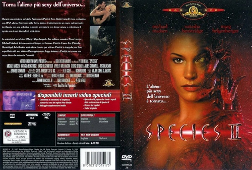 dvd especies 2 ii species alien ovni natasha henstridge gore