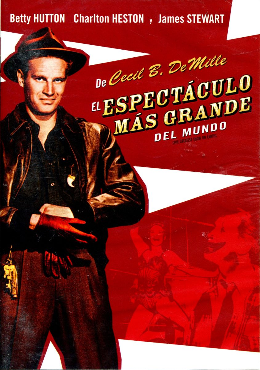 Dvd espectaculo mas grande del mundo the greatest show for Chismes mas recientes del espectaculo