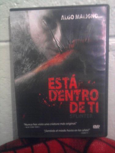dvd esta dentro de ti terror monstruo mutante