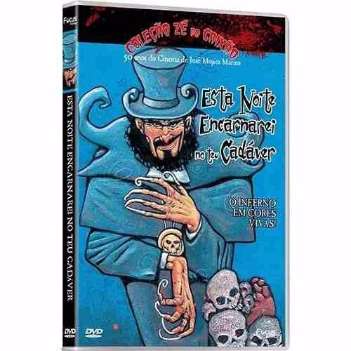 dvd- esta noite encarnarei no teu cadáver- zé do caixão- lac