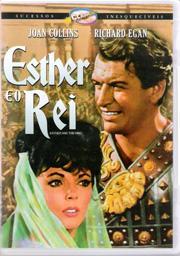 dvd esther e o rei, de mario bava, com joan collins r egan +