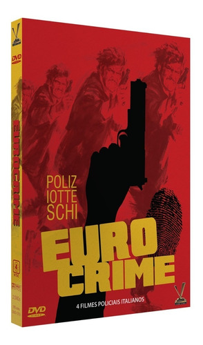 dvd eurocrime volume 1 com cards - versatil - bonellihq l19