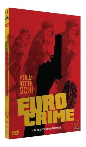 dvd eurocrime volume 1 - versatil - bonellihq e19