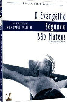 dvd evangelho segundo s mateus - duplo - pier p. pasolini  +