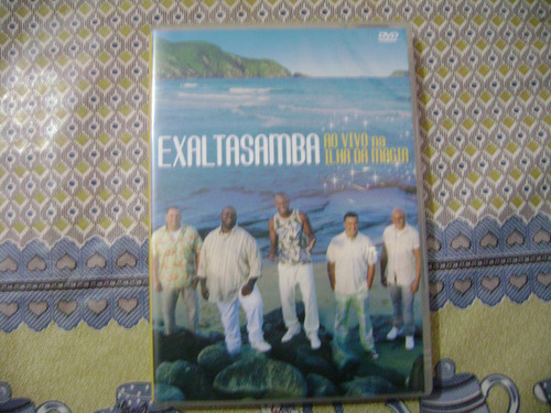 dvd exaltasamba  ao vivo na ilha da magia