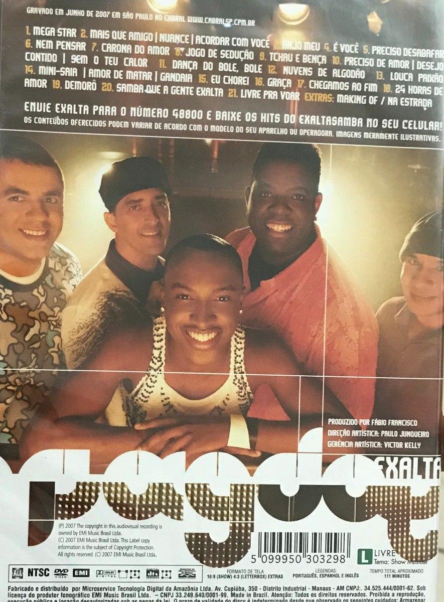 dvd pagode do exalta ao vivo 2007