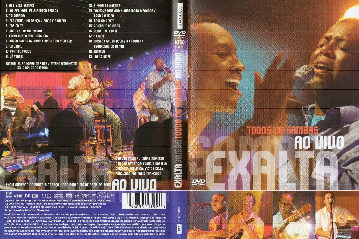 dvd exaltasamba 2006