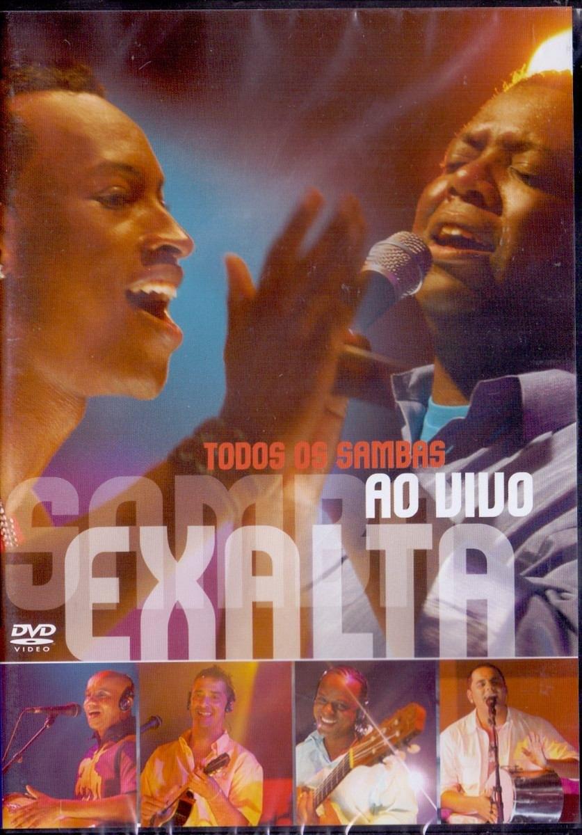 dvd do exaltasamba todos os sambas ao vivo
