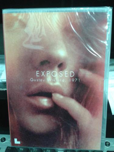 dvd - exposed - gustav wiklund, 1971.