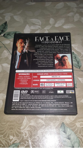 dvd face a face com o inimigo  original