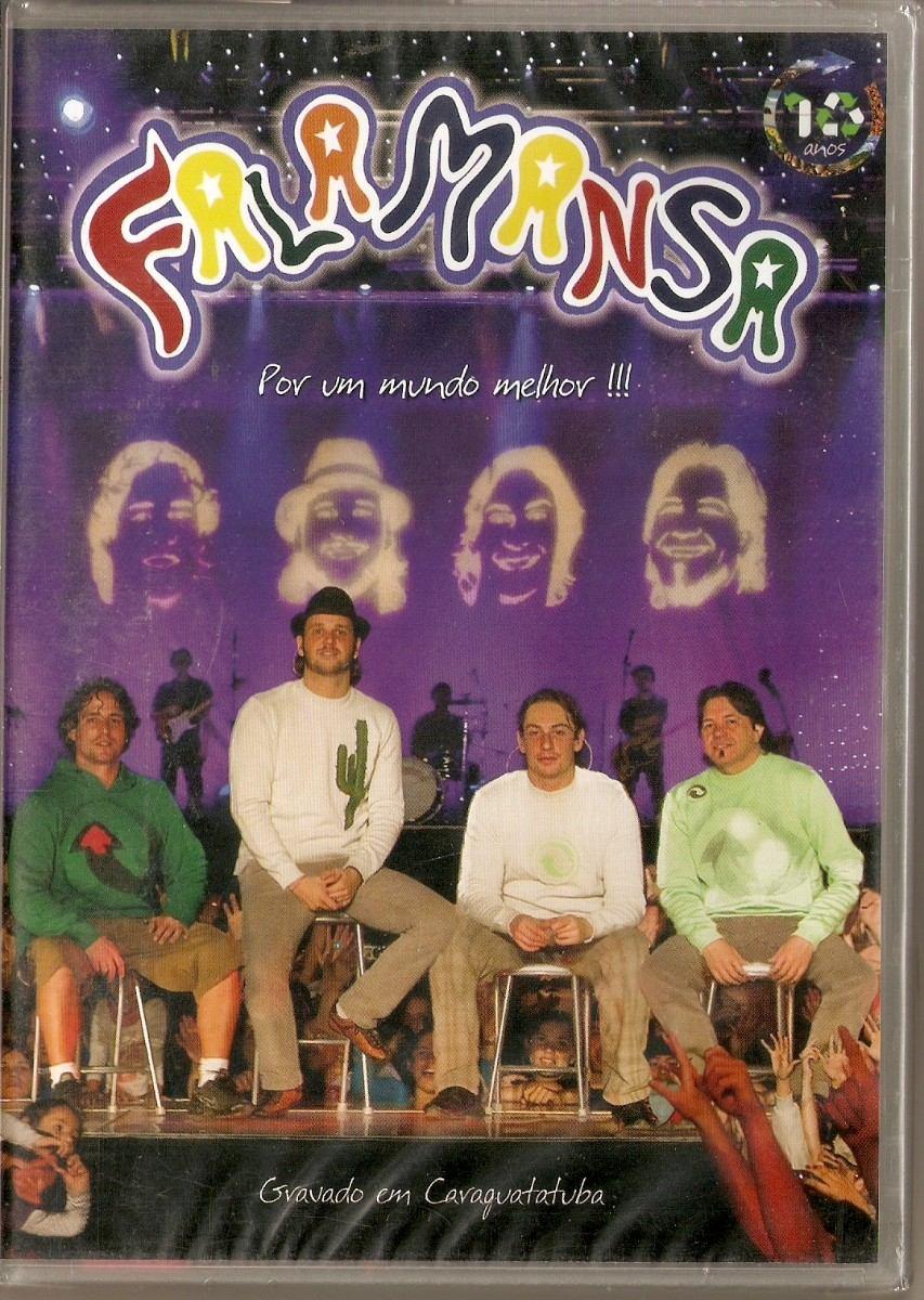 dvd de falamansa