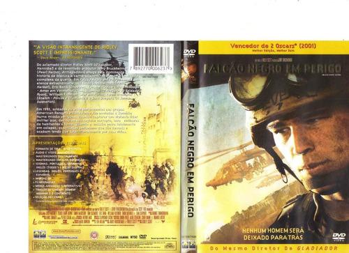 dvd falcão negro em perigo - guerra- original