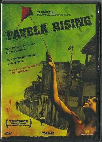 dvd favela rising historia do afroreggae