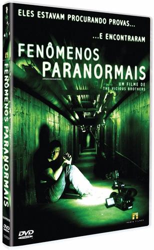dvd fenômenos paranormais (semi novo)