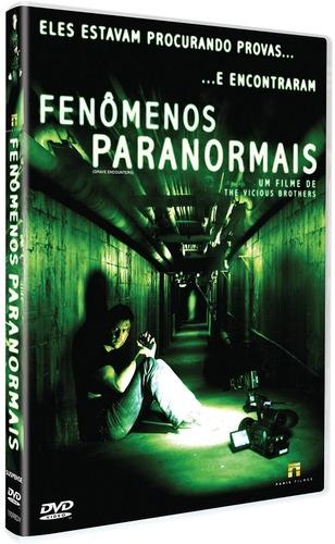 dvd - fenômenos paranormais - vicious brothers - lacrado