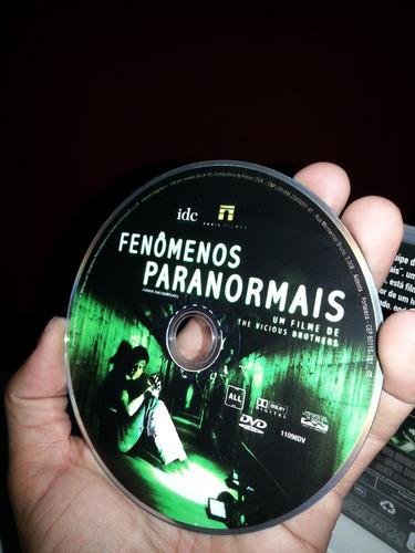 dvd fenomenos paranormais - filme original - frete r$ 8,00