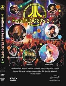 dvd - festa ploc 80's 2