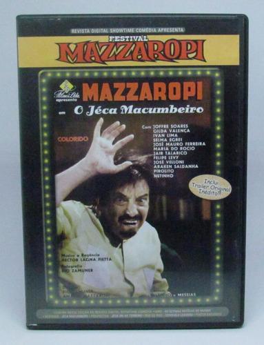 dvd festival mazzaropi o jéca macumbeiro original