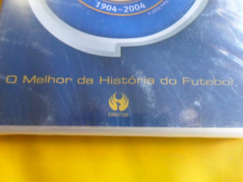 dvd fifa fever 100 years / o melhor do futebol