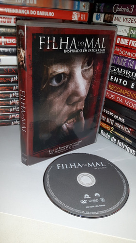 dvd filha do mal - filme original