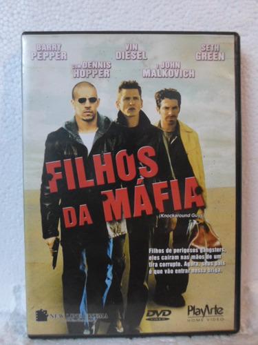 dvd filhos da mafia - frete: 8,00