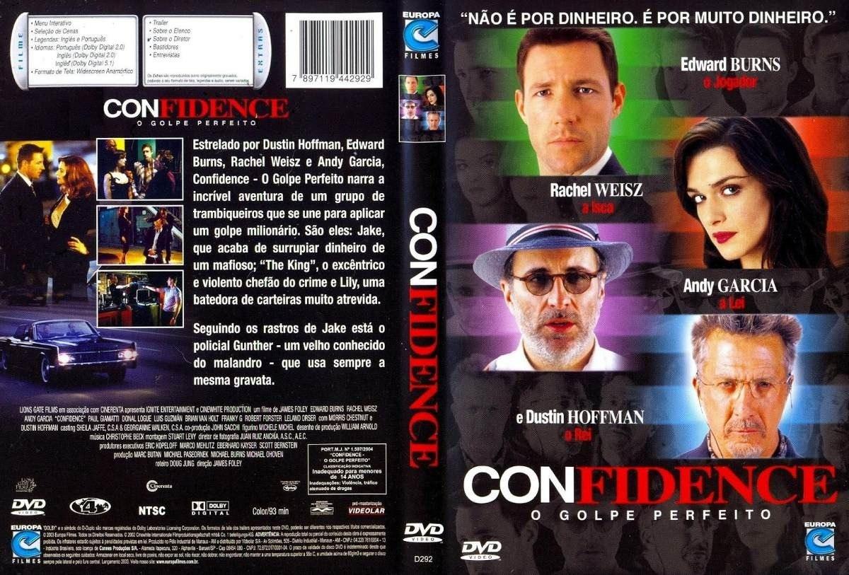 o filme confidence o golpe perfeito