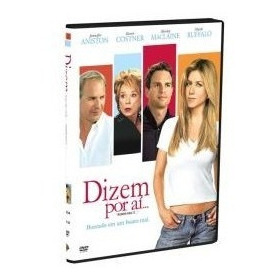 Dvd Filme Dizem Por Ai... Comédia Dublada Com Kevin Costner