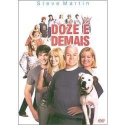 dvd  filme doze é demais com steve martin   - dublado