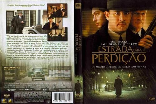 dvd filme estrada para perdicao tom hanks, paul newman, jude