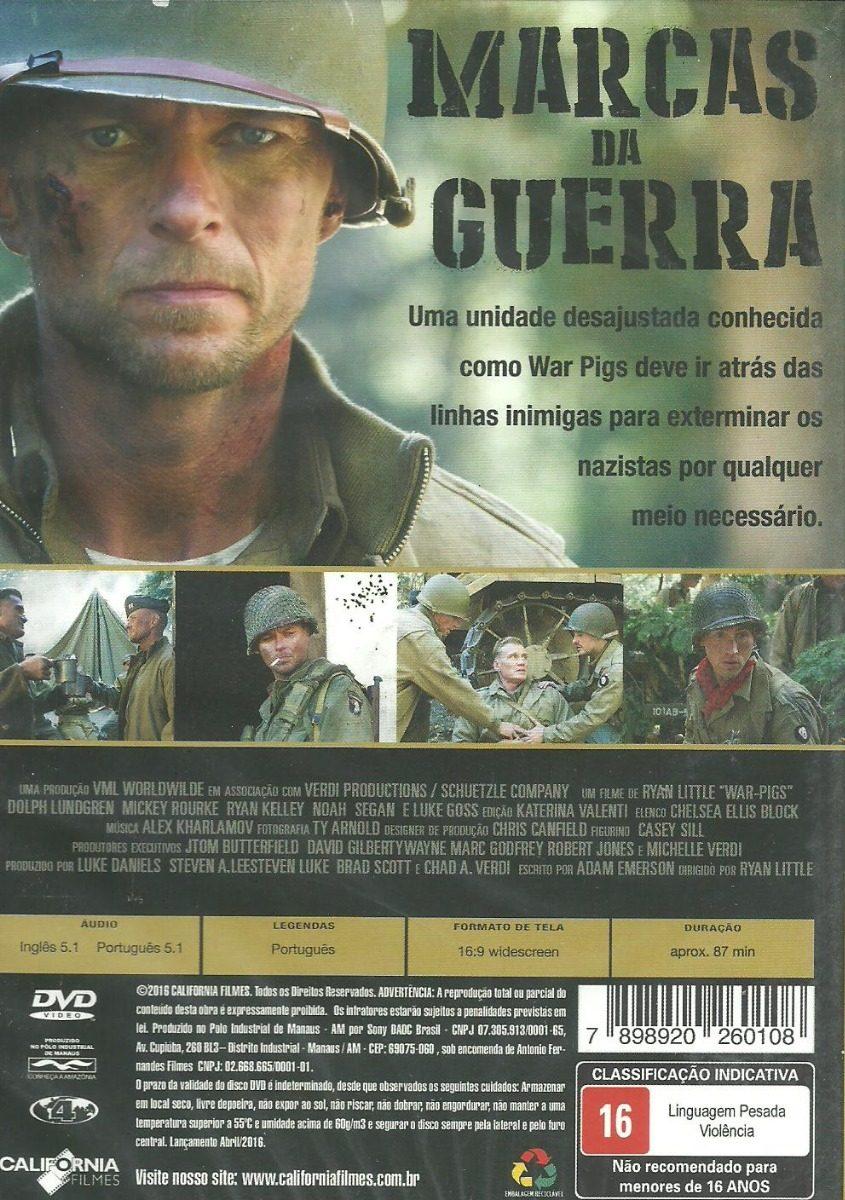 Filme Marcas Da Guerra intended for dvd filme - marcas da guerra (dublado/legendado/lacrado) - r$ 29