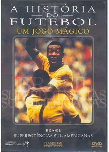dvd filme história do futebol um jogo mágico  original usado