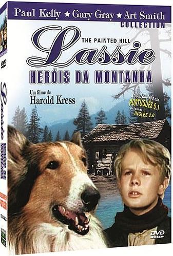 dvd filme - lassie - heróis da montanha