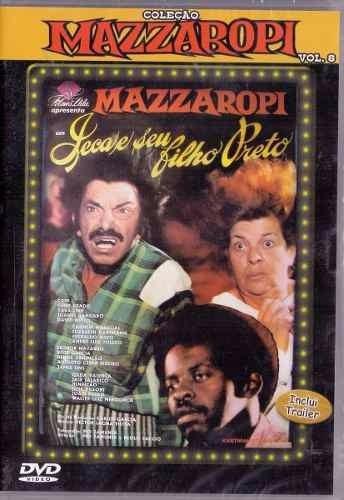 dvd filme mazzaropi - jeca e o seu filho preto - colorido