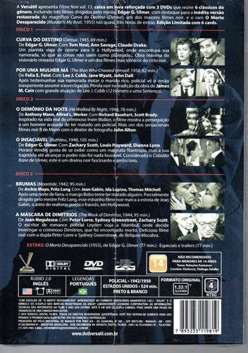 dvd filme noir 13 com cards - versatil - bonellihq l19