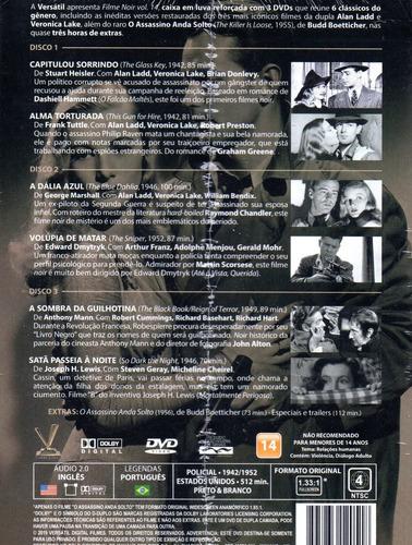 dvd filme noir 14 sem cards - versatil - bonellihq q20
