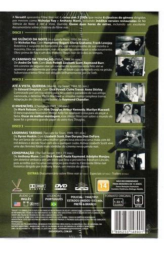 dvd filme noir 6  sem cards - versatil - bonellihq  j19