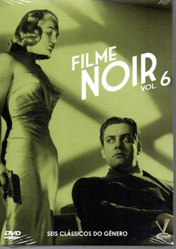 dvd filme noir 6  sem cards - versatil - bonellihq  l19