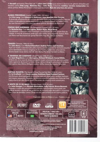 dvd filme noir 7  sem cards - versatil - bonellihq  j19