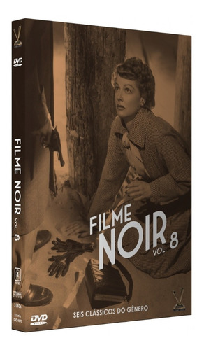dvd filme noir 8  sem cards - versatil - bonellihq  l19