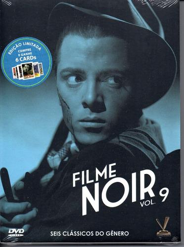 dvd filme noir 9 com cards - versatil - bonellihq l19