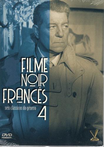 dvd filme noir frances 4 com cards - versatil bonellihq n20