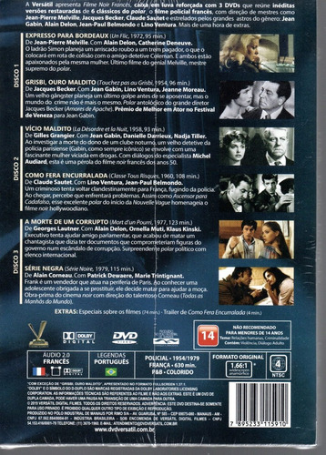 dvd filme noir frances vol 1 sem card versatil bonellihq d19